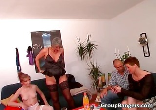 abode party become perverted group banging part4
