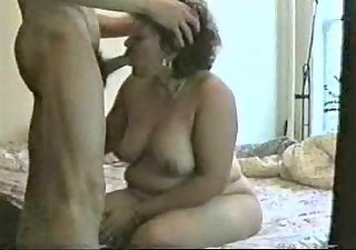 mature bitch dont want swallow my cum